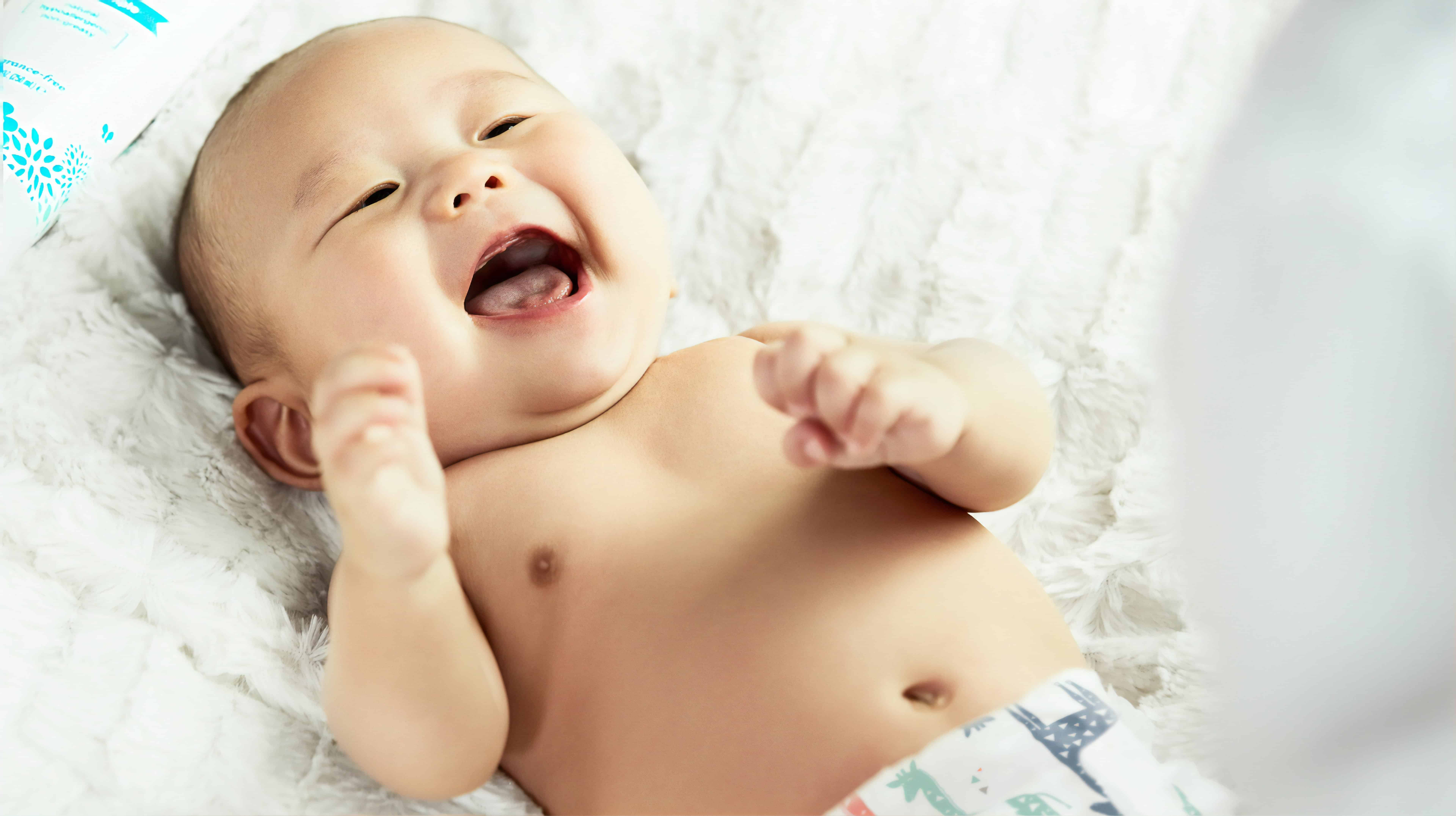 excited baby