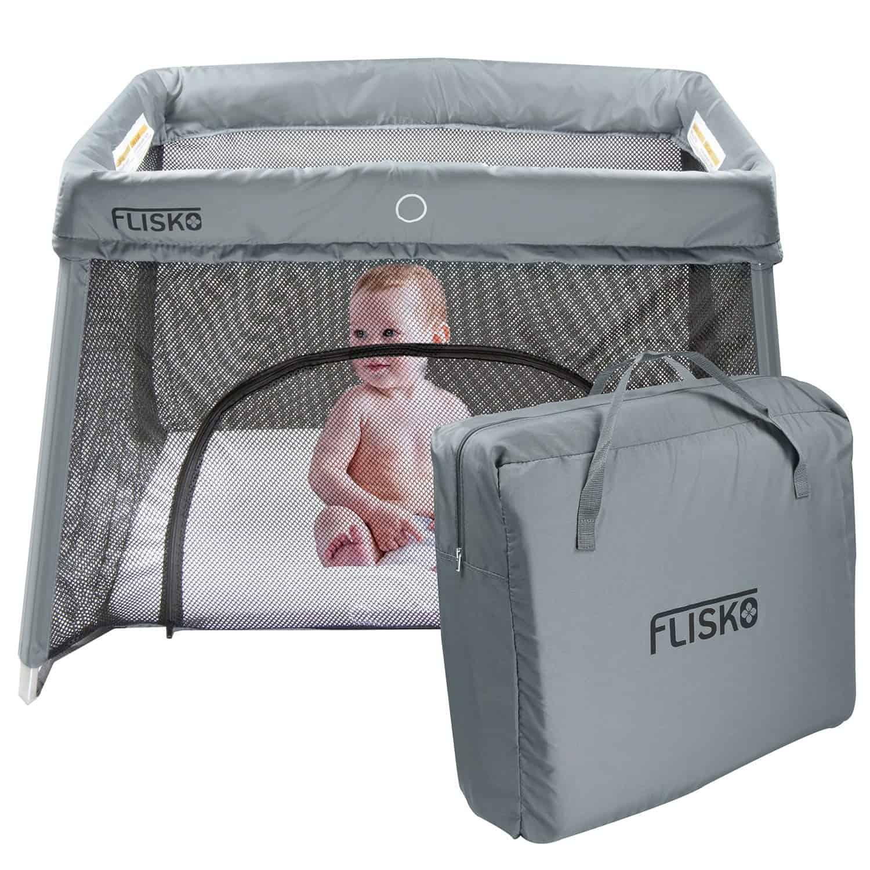 Flisko 2 in 1 Travel crib