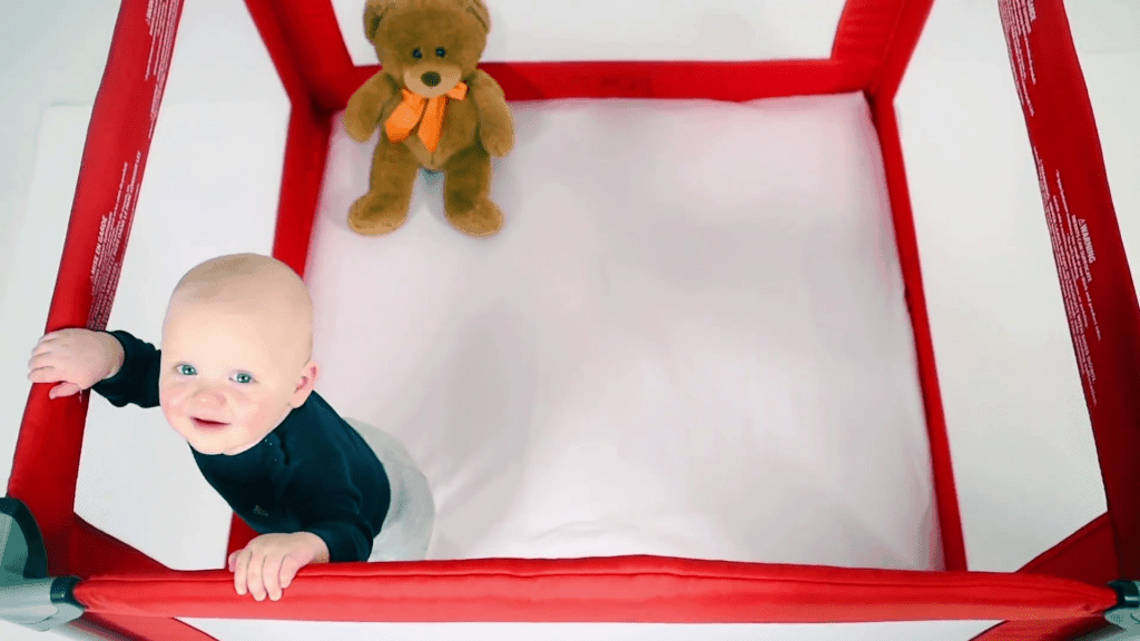 The most spacious portable playard