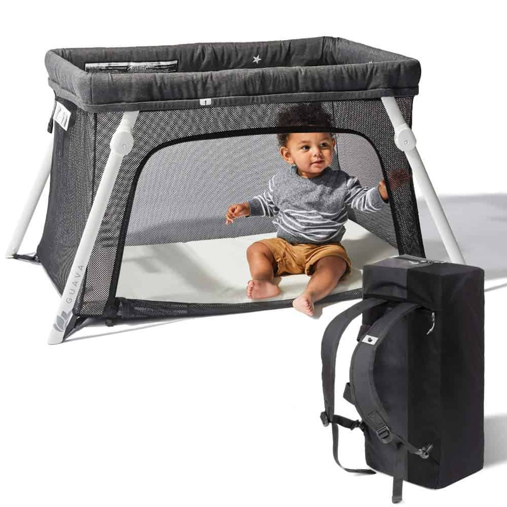 Lotus playard and Travel crib