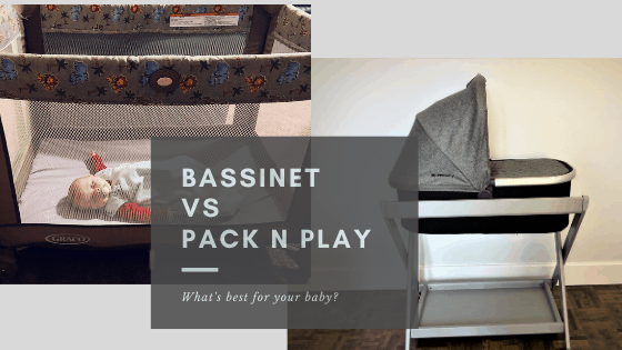bassinet vs pack n play