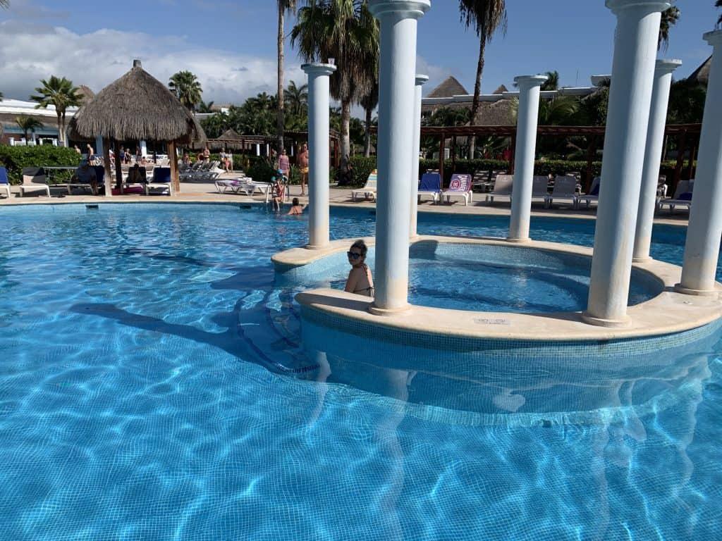 Pool at the resort
