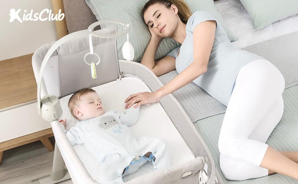 Kidsclub bedside sleeper bassinet