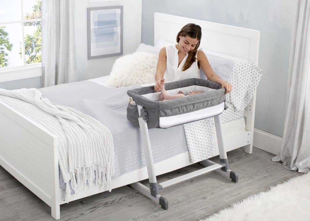 Simmons Kids by the Bed City Sleeper Bassinet 1