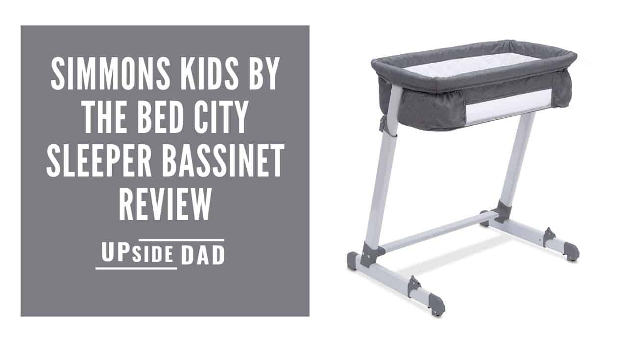 Simmons Kids by the Bed City Sleeper Bassinet Review