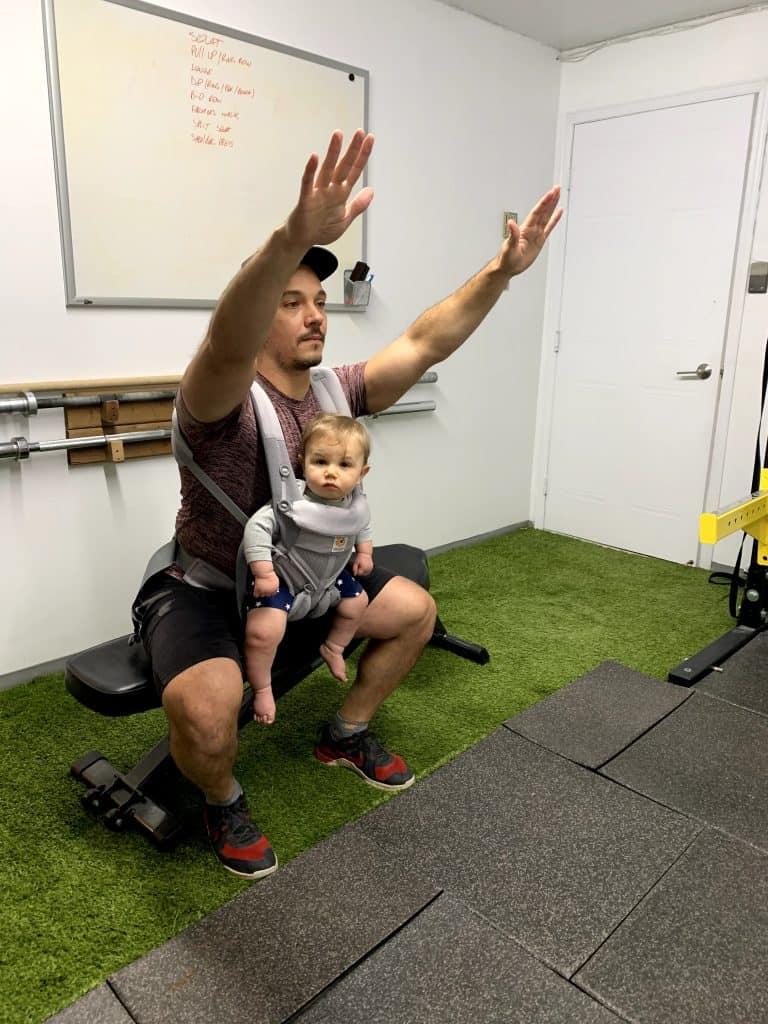 babywearing squat