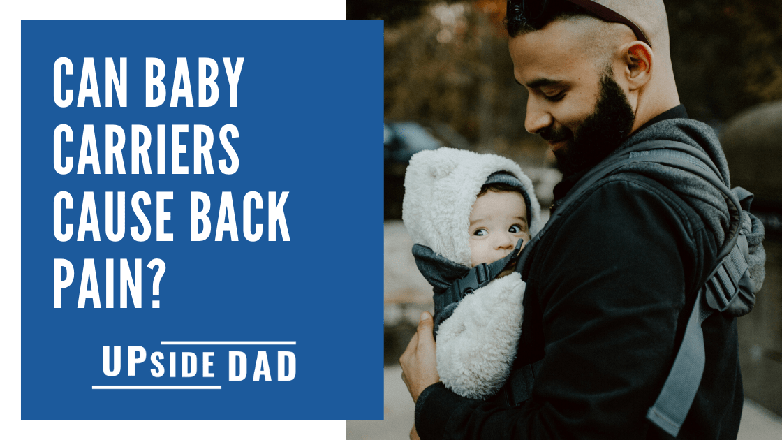 Can baby carriers cause back pain