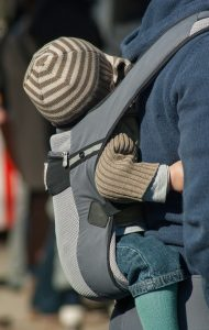 soft structured baby carrier