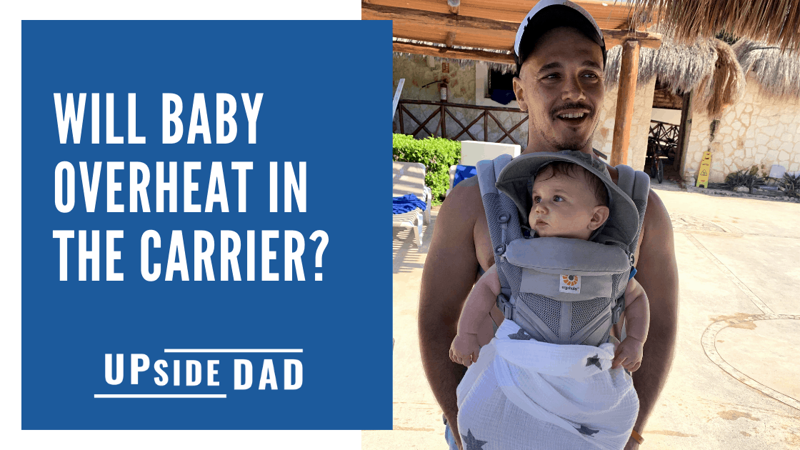 will baby overheat in the carrier_