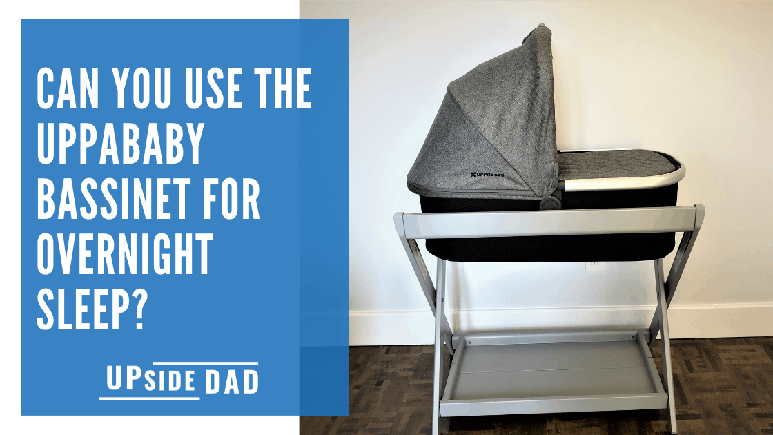 Can you use the uppababy bassinet for sleeping