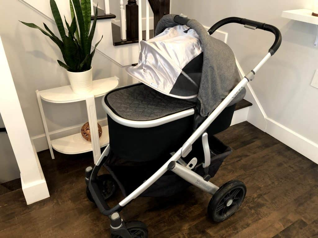 uppababy bassinet and stroller