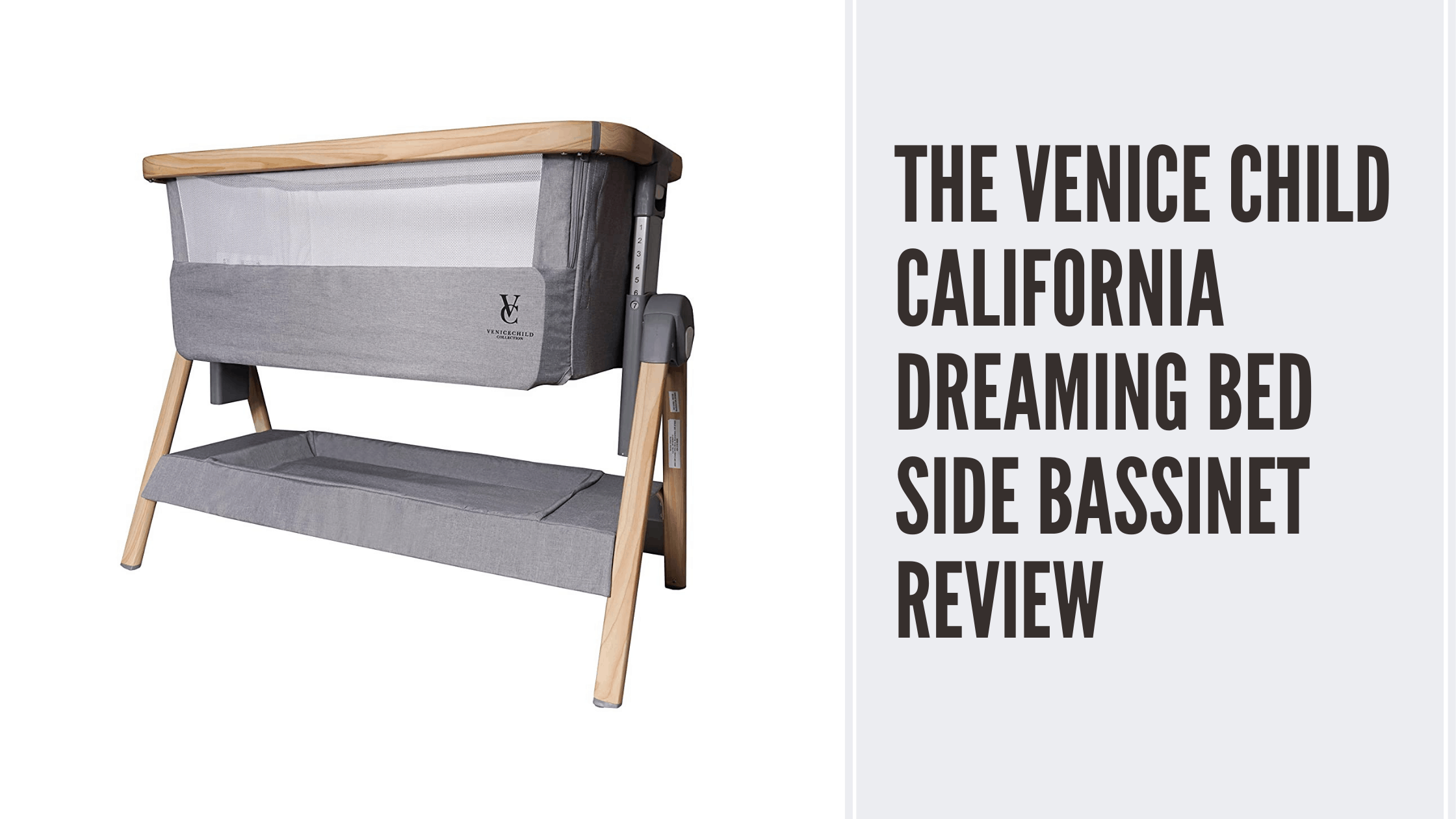 Venice Child California Dreaming Bedside Bassinet