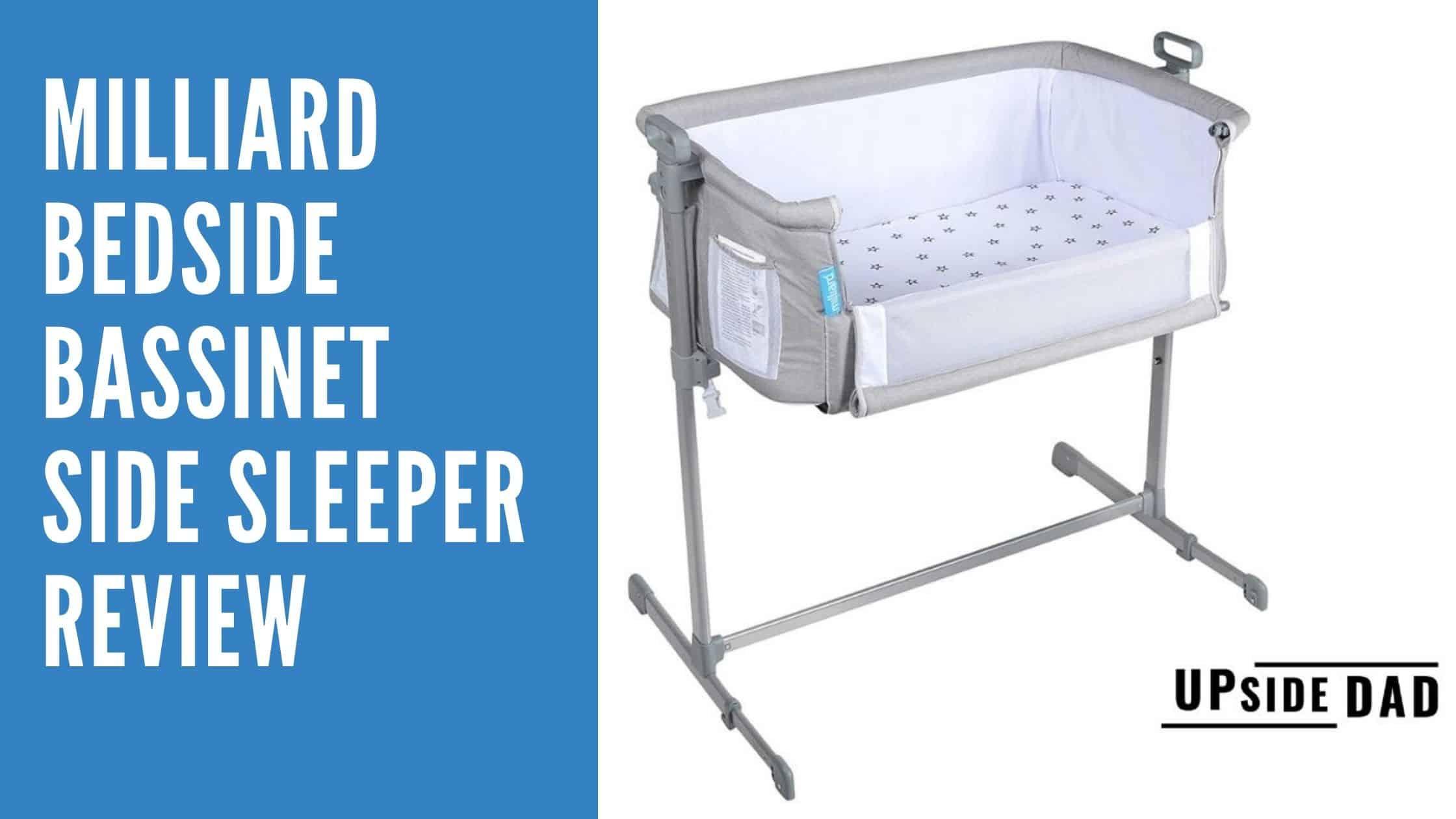 Milliard Bedside Bassinet Side Sleeper review