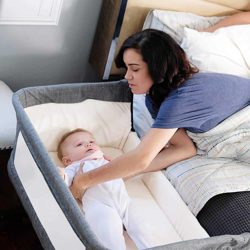 co sleeper bassinet
