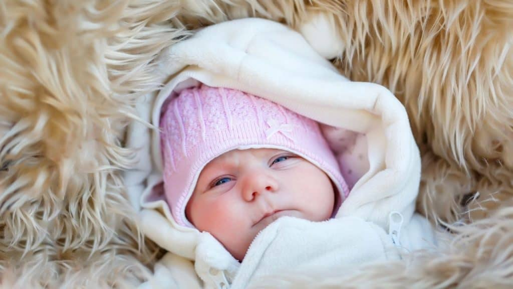 how to keep baby warm at night