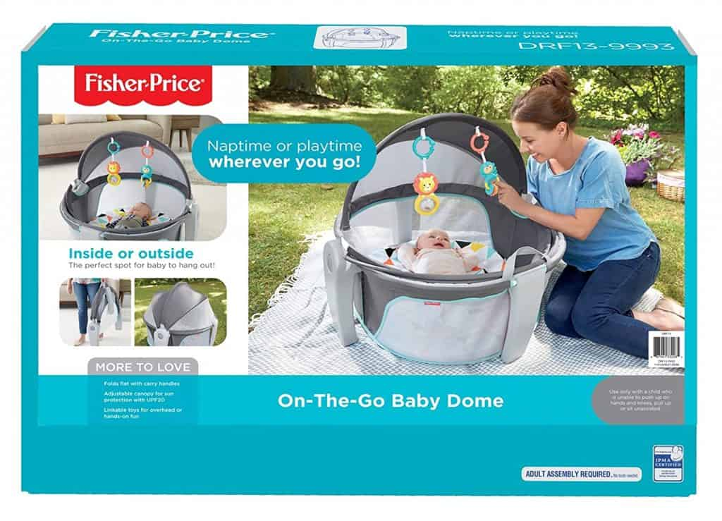 fisher price baby dome box