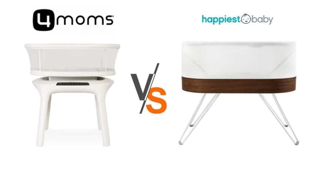 mamaroo vs snoo the best smart bassinets