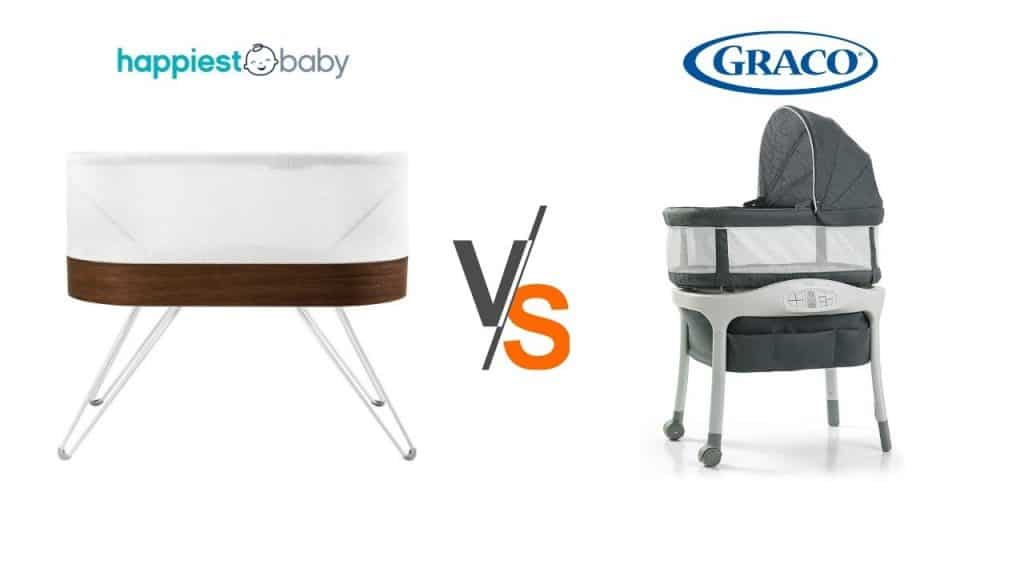 SNOO vs graco sense2snooze bassinet