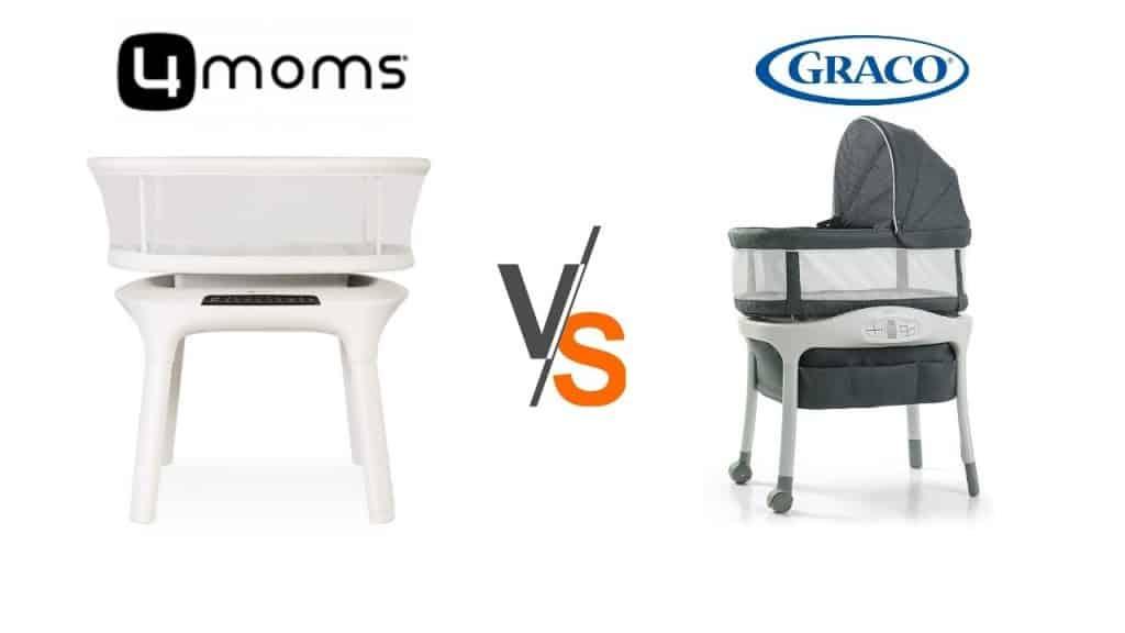 graco sense2snooze vs 4moms bassinet mamaroo