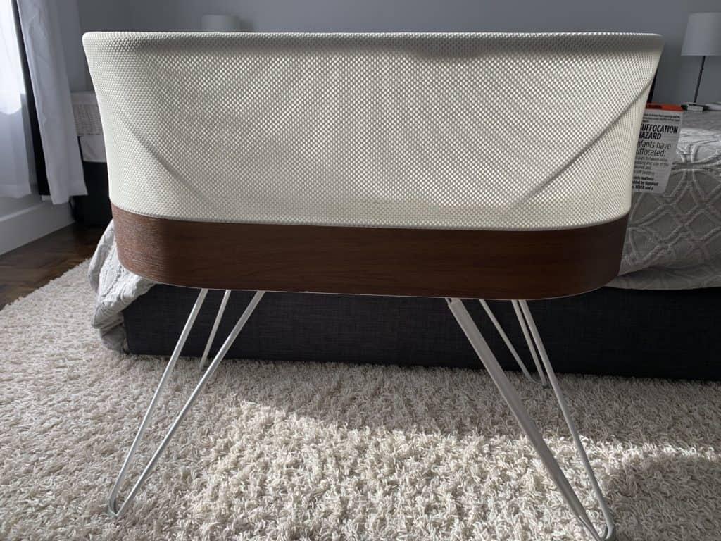 SNOO smart bassinet in my bedroom