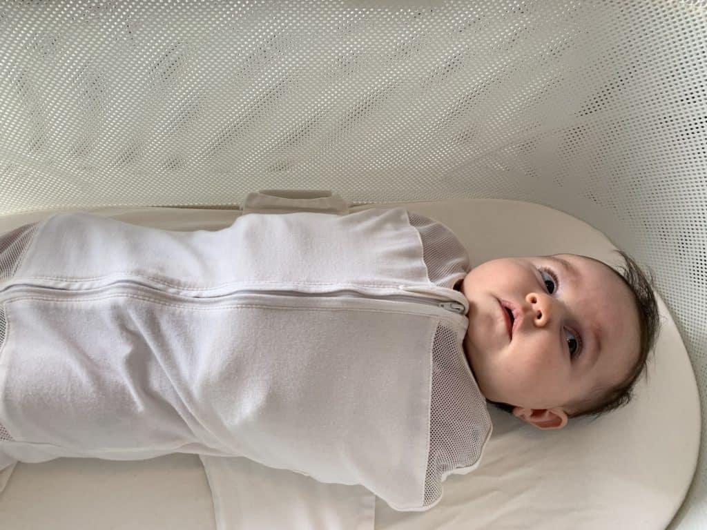 baby in the snoo smart sleeper