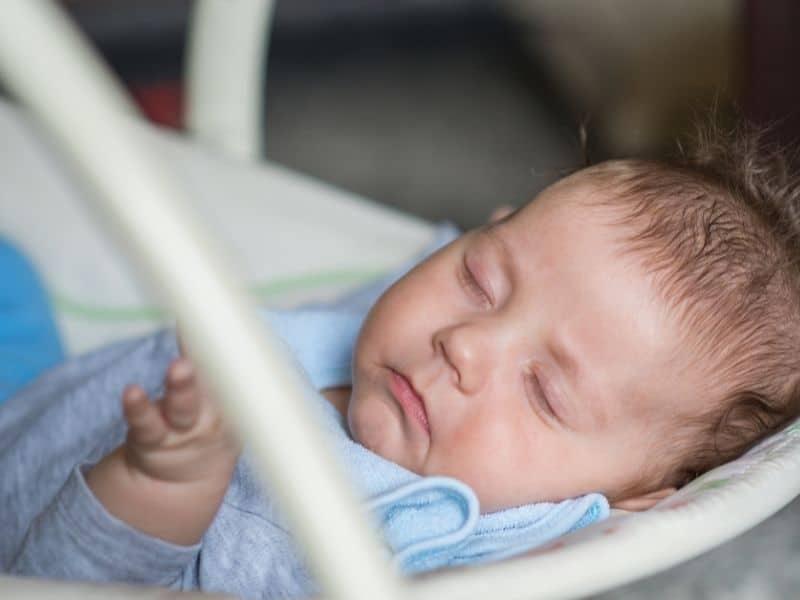 baby sleeping swing