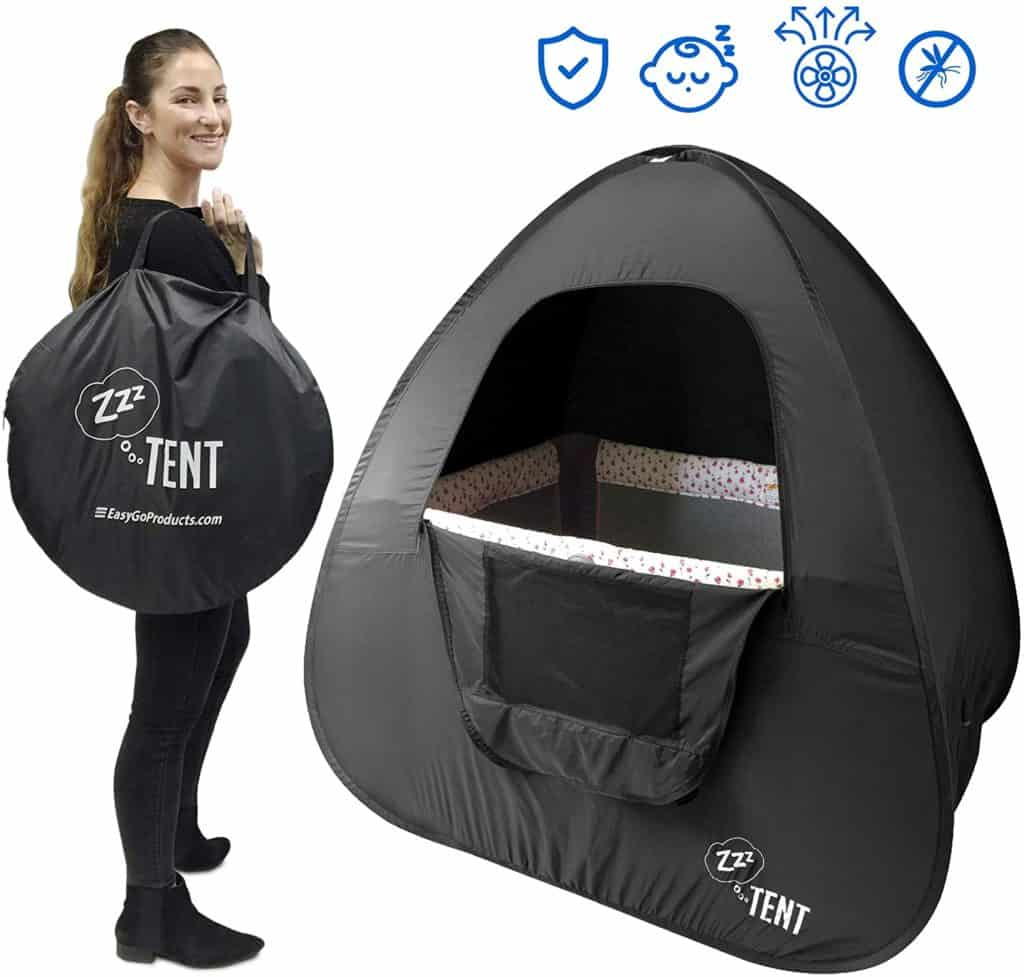 ZZZ Play & Crib Sleeping Cover Instant Tent