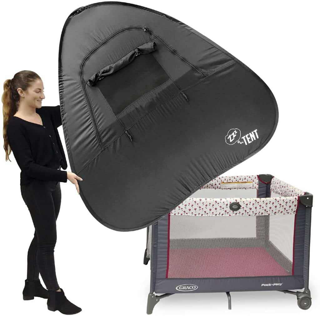 ZZZ Play & Crib Sleeping Cover Instant Tent - Covering Crib