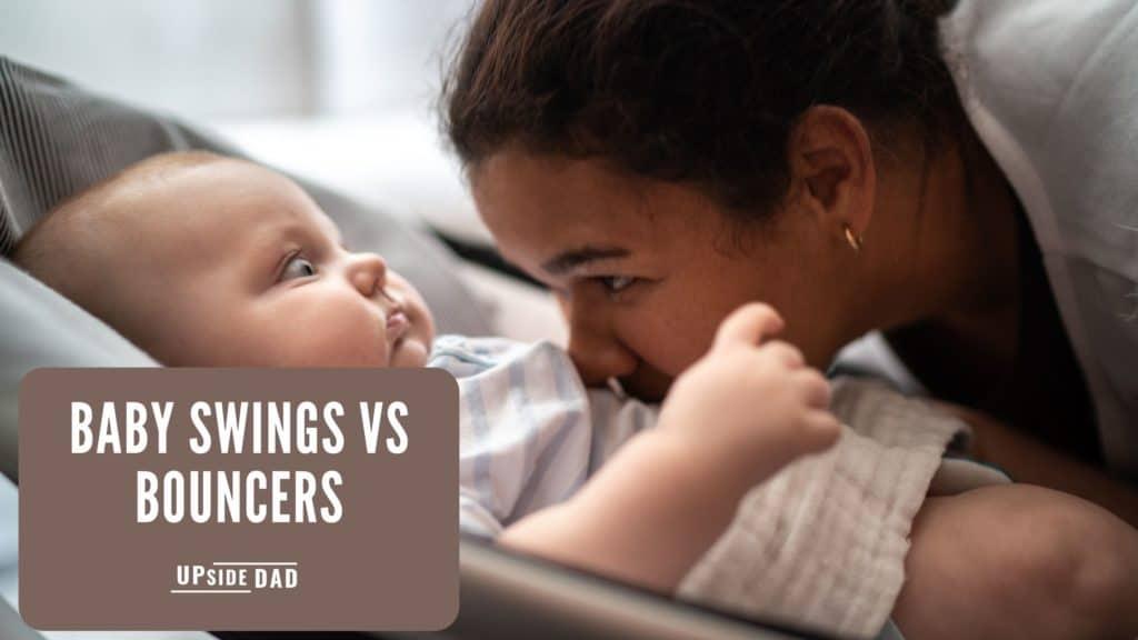 baby swings vs bouncers
